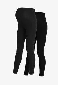 New Look Maternity - 2 PACK - Leggings - black - 3