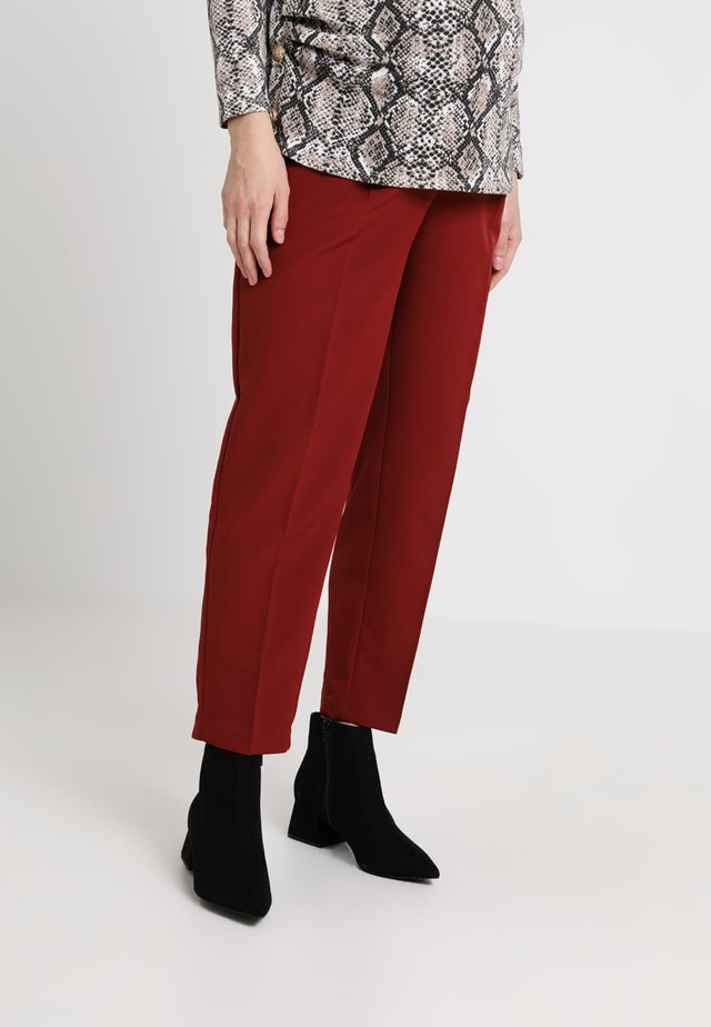 MILLER TIE WAIST TROUSER - Trousers - rust