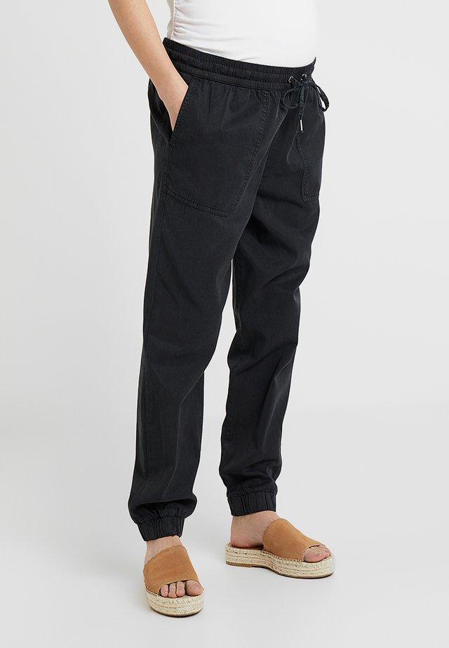 GINGER - Spodnie treningowe - black