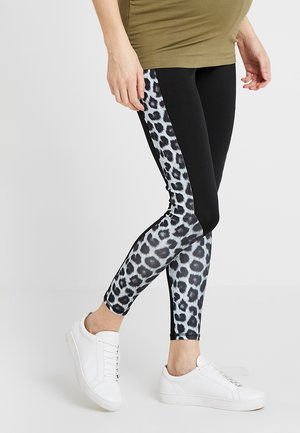 ACTIVE PANEL BLOCK - Legging - black
