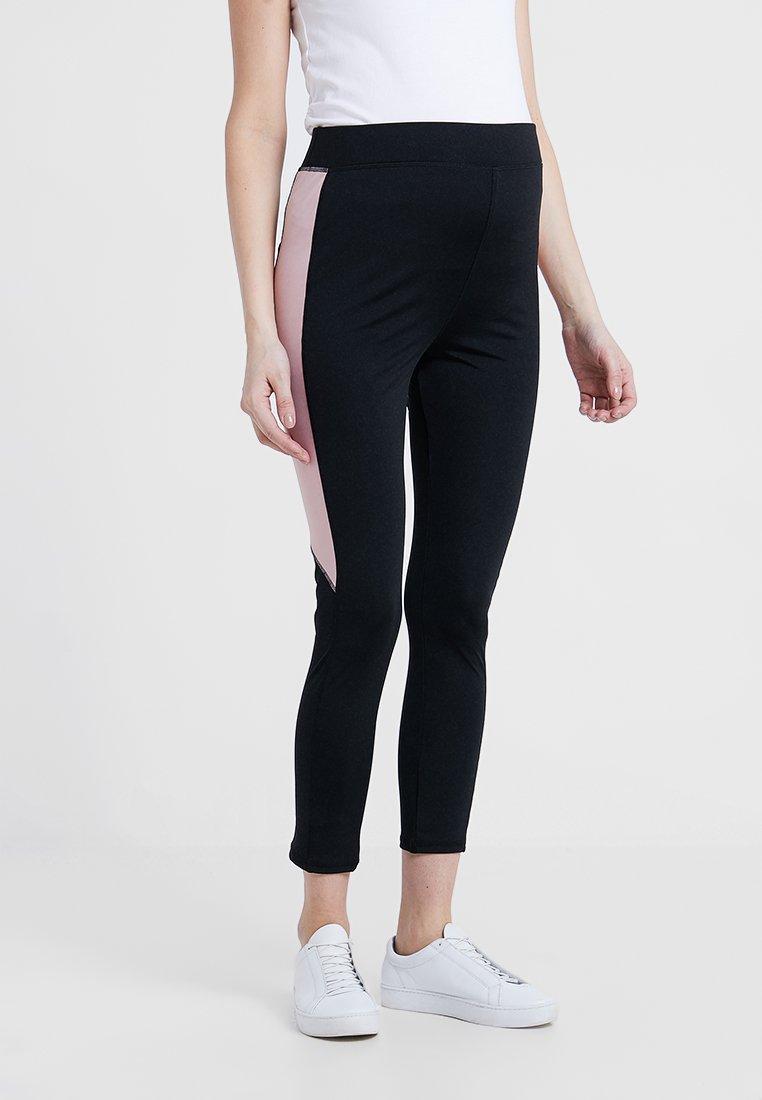 New Look Maternity - ACTIVE PANEL CBLOCK - Leggings - Hosen - black