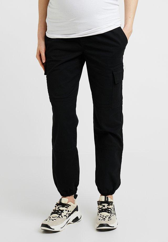 UTILITY POCKET TROUSER - Pantalon de survêtement - black