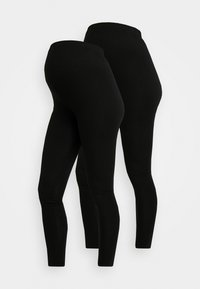 New Look Maternity - 2 PACK - Leggings - black - 3