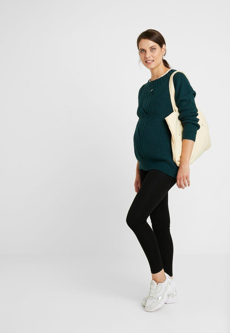 New Look Maternity - 2 PACK - Legíny - black