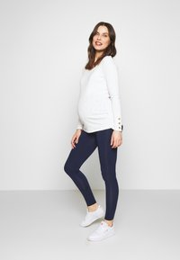 New Look Maternity - 2 PACK - Legginsy - black/navy - 0