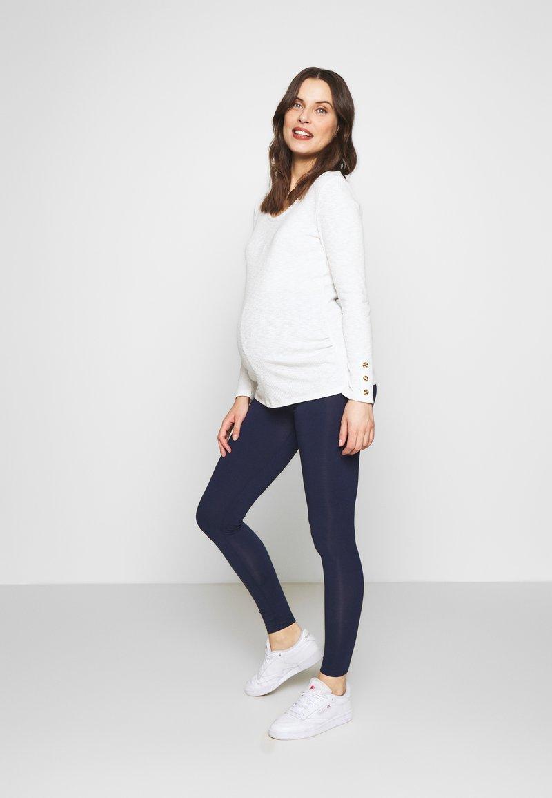 New Look Maternity - 2 PACK - Legging - black/navy