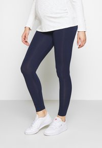 New Look Maternity - 2 PACK - Legginsy - black/navy