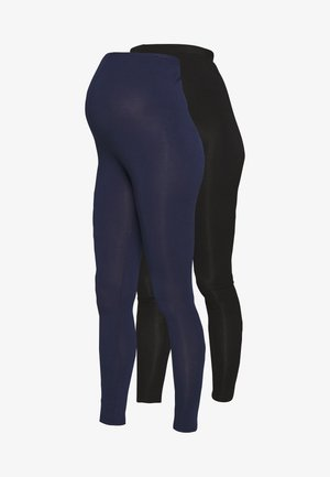 2 PACK - Legginsy - black/navy
