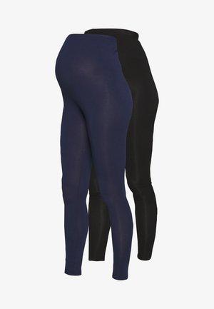 2 PACK - Leggings - black/navy