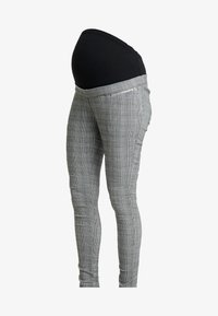 New Look Maternity - CHARLES CHECK BENGALINE TROUSER - Pantalon classique - grey - 3