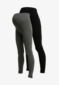 New Look Maternity - 2 PACK - Leggings - Hosen - grey - 3