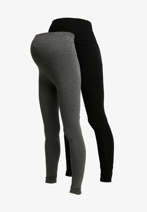 2 PACK - Leggings - grey