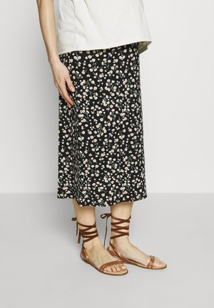 DOLLY DAISY MIDI SKIRT - A-line skirt - black
