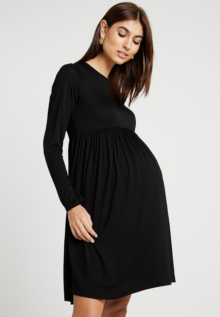 New Look Maternity - MATERNITY PLAIN SMOCK - Trikoomekko - black