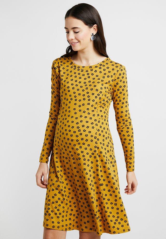 ALLY DITSY - Jersey dress - yellow