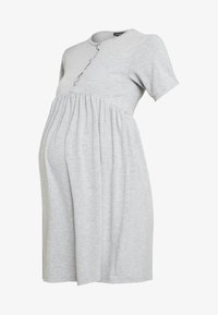 New Look Maternity - NURSING SMOCK DRESS - Žerzejové šaty - grey - 4
