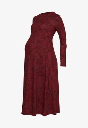SOFT TOUCH MIDI DRESS - Vestido ligero - red