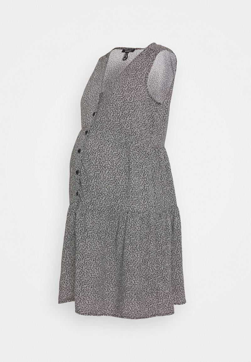 New Look Maternity - LESS BTN THRU TBC - Vestido camisero - black