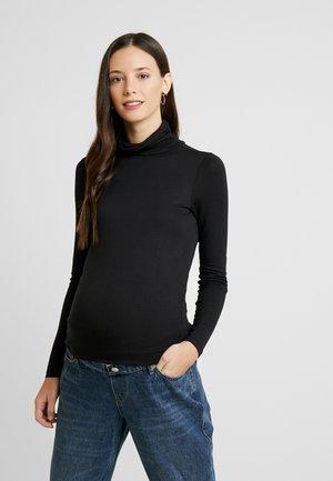 ROLL NECK 2PACK - Langærmede T-shirts - black