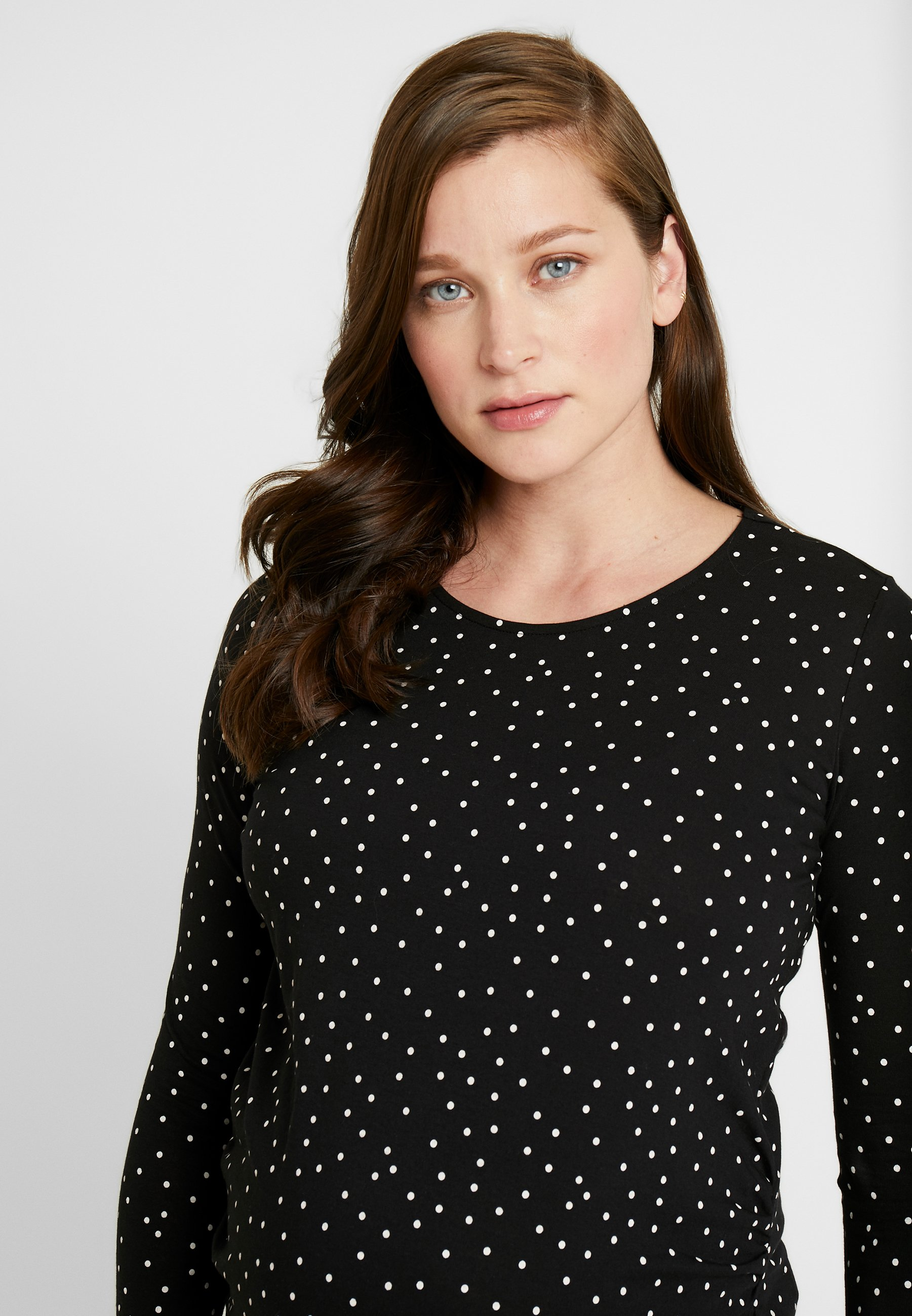 New Look Maternity Maternitcandice - Long Sleeved Top Black Pattern