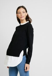 New Look Maternity - 2 IN 1 JUMPER - Pullover - cream - 0