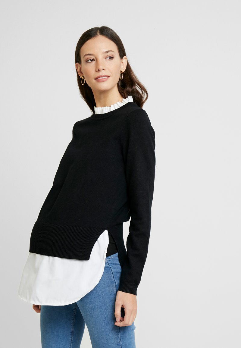 New Look Maternity - 2 IN 1 JUMPER - Pullover - cream