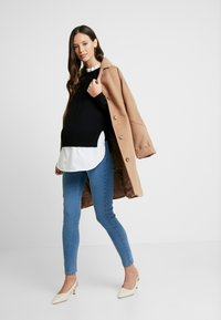 New Look Maternity - 2 IN 1 JUMPER - Pullover - cream - 1