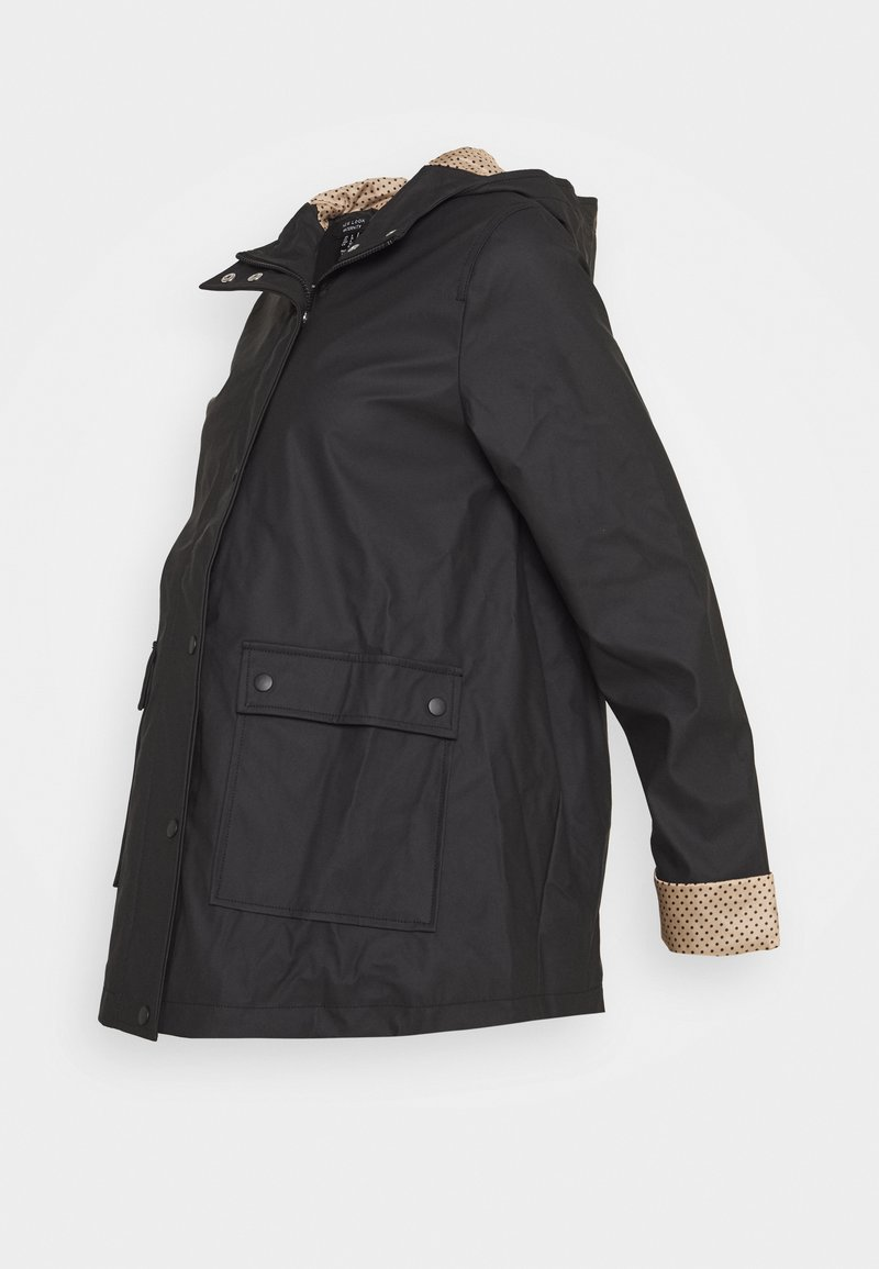 New Look Maternity - AMERIE ANORAK - Lehká bunda - black