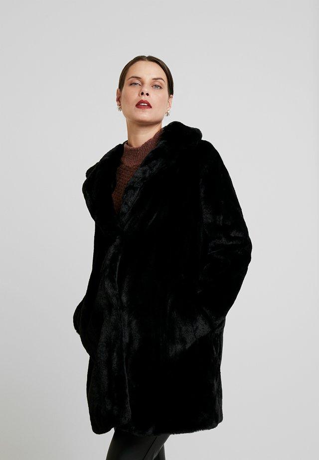 MATERNITY LEAD IN COAT - Zimní kabát - black