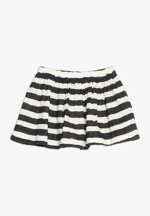 ROLLER SKIRT - Minifalda - black