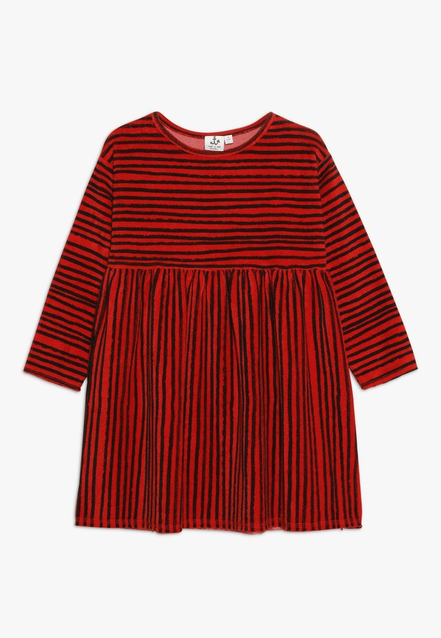 DRESS - Jerseyklänning - red