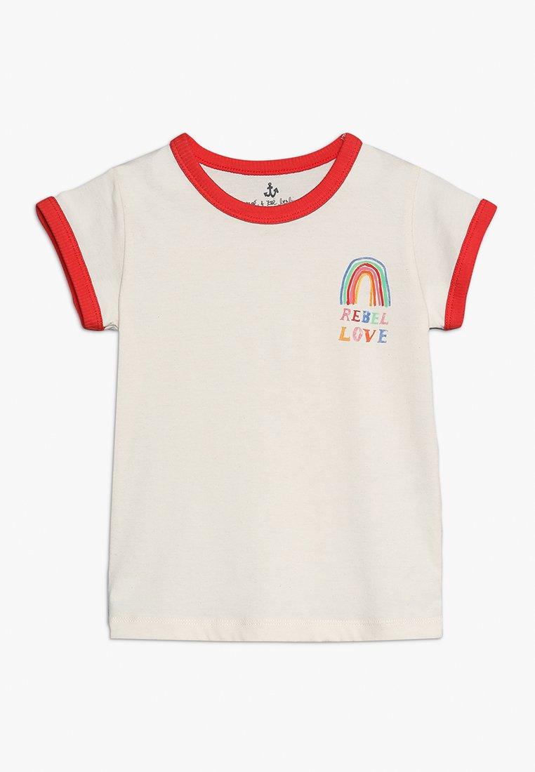 Noé & Zoë - TEE - Print T-shirt - offwhite
