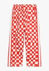 Noé & Zoë - SPORTY PANTS - Tracksuit bottoms - red checker