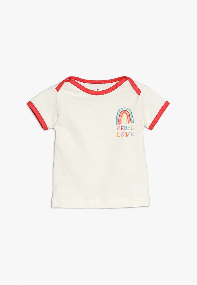BABY TEE - Printtipaita - red