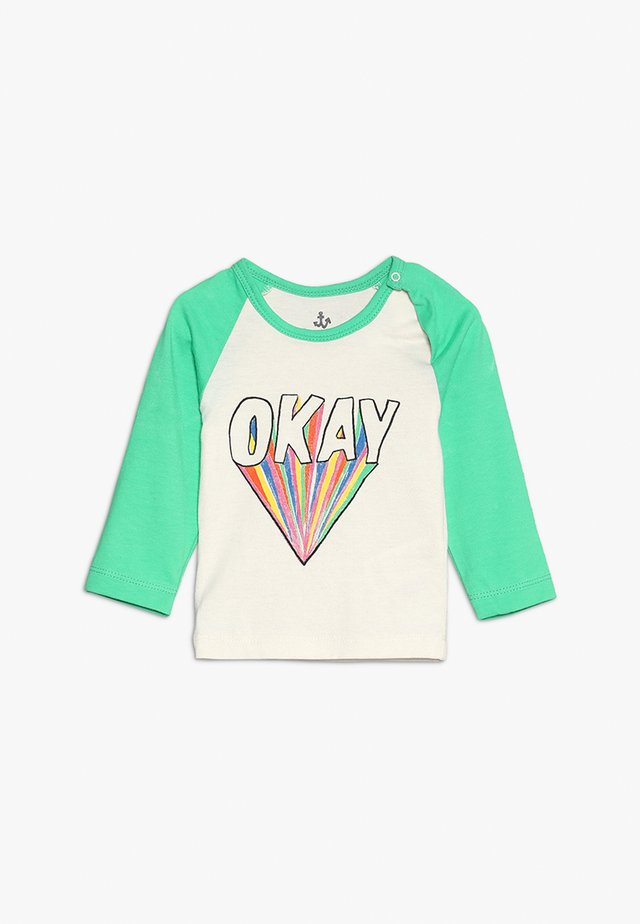 BABY BASEBALL TEE - Long sleeved top - green