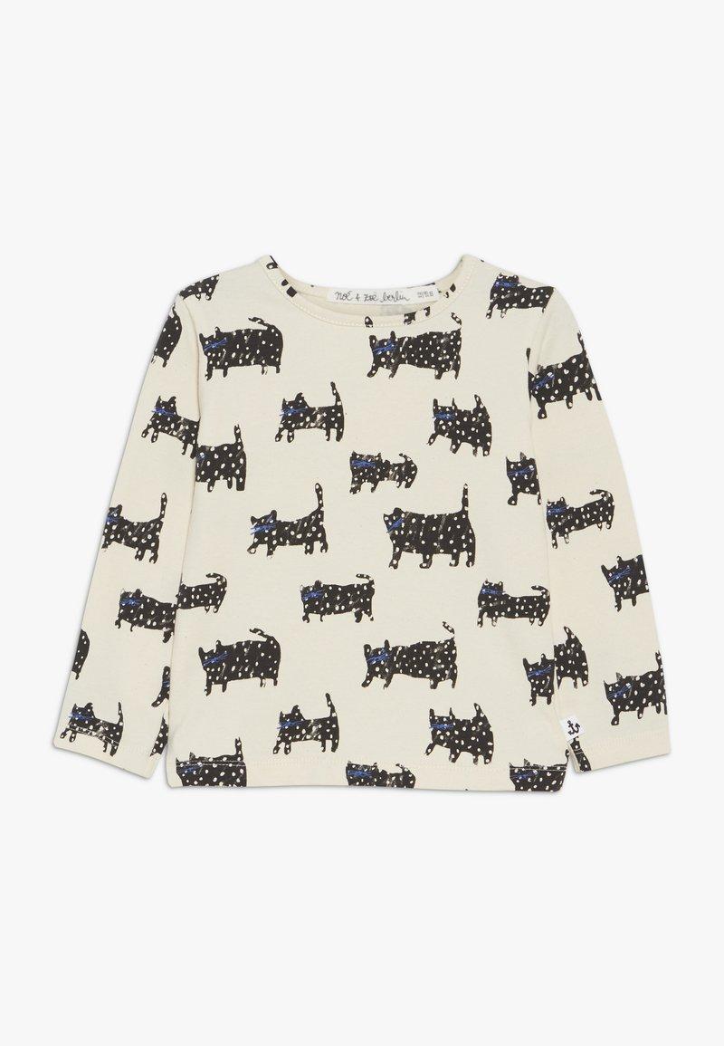 Noé & Zoë - BABY LONGSLEEVE - T-shirt à manches longues - off white/black