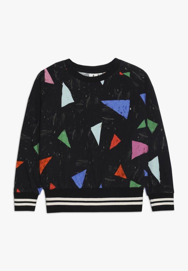 Sweatshirt - black/multi-coloured