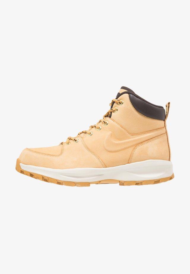 MANOA - Lace-up ankle boots - beige / marron