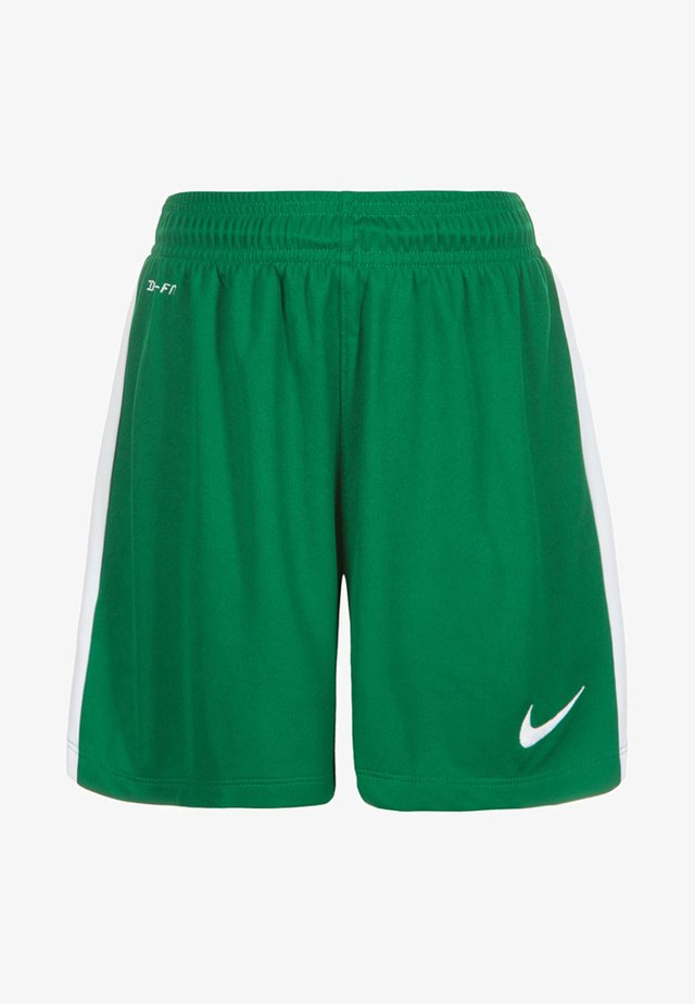 Sports shorts - pine green/white