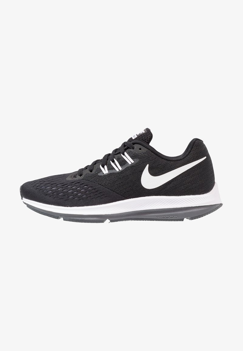 Nike Performance - ZOOM WINFLO 4 - Scarpe running neutre - black/white/dark grey