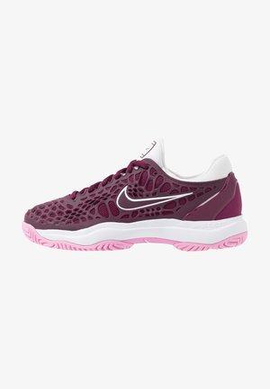 AIR ZOOM CAGE HC - Zapatillas de tenis para todas las superficies - bordeaux/pink rise/white