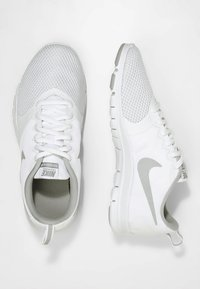 Nike Performance - WMNS NIKE FLEX ESSENTIAL TR - Sports shoes - white/wolf grey/pure platinum