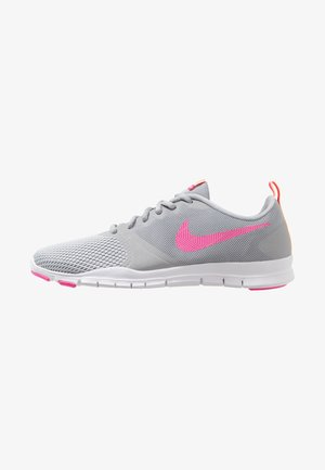 FLEX ESSENTIAL TR - Sports shoes - wolf grey/laser fuchsia/pure platinum