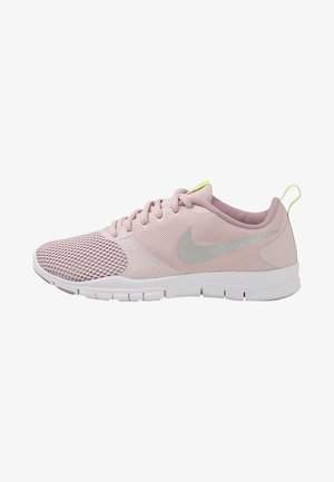 FLEX ESSENTIAL TR - Sports shoes - barely rose/metallic silver/elemental rose/volt glow