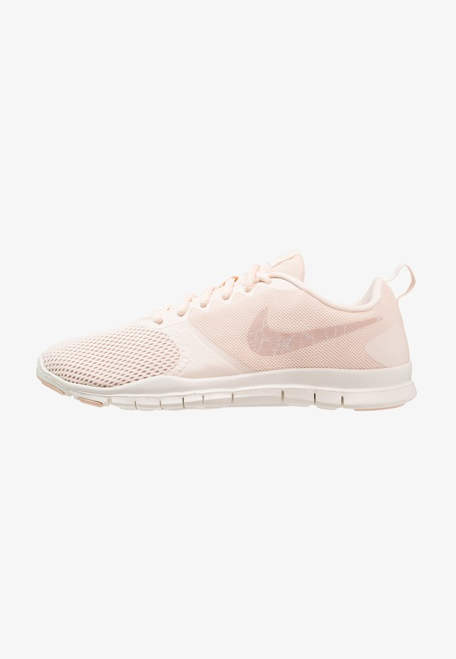WMNS NIKE FLEX ESSENTIAL TR - Sports shoes - guava ice/particle beige/sail