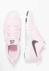 Nike Performance - WMNS NIKE FLEX ESSENTIAL TR - Trainings-/Fitnessschuh - pink foam/thunder grey/pale pink - 1