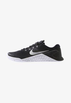 METCON 4 - Sports shoes - black/metallic silver/white