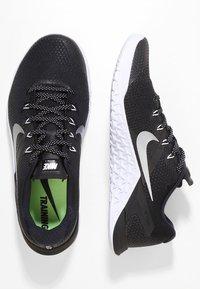 Nike Performance - METCON 4 - Sports shoes - black/metallic silver/white - 1