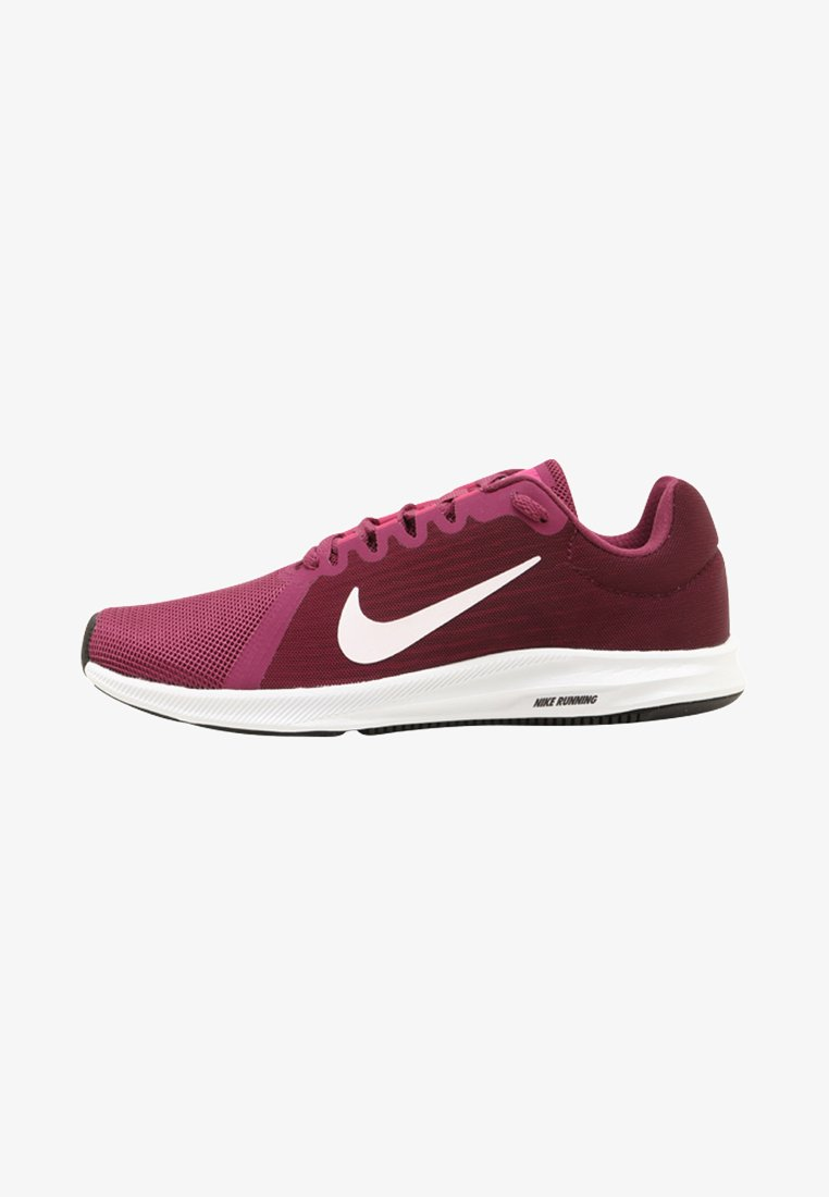 Nike Performance - DOWNSHIFTER 8 - Scarpe running neutre - bordeaux/white tea/berry/deadly pink/black
