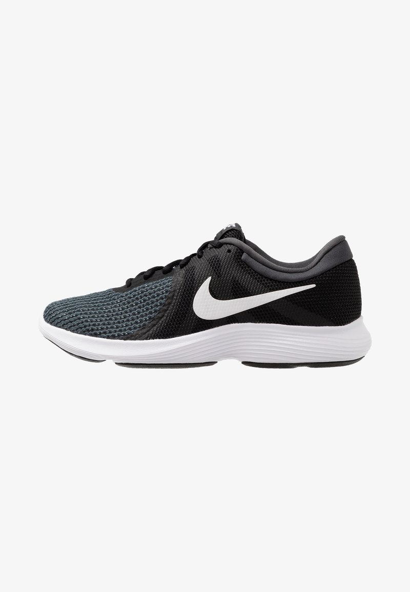 Nike Performance - WMNS REVOLUTION 4 EU - Neutral running shoes - black/white/anthracite